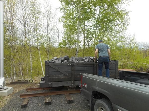 Mine Car Coal Load 4 25 2019 003