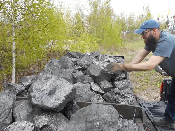 Mine Car Coal Load 4 25 2019 004