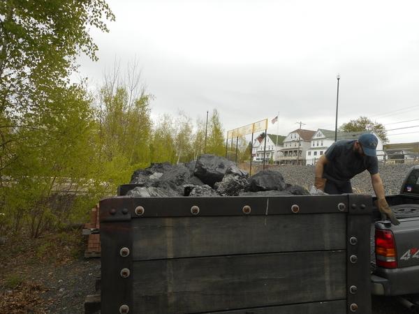 Mine Car Coal Load 4 25 2019 005