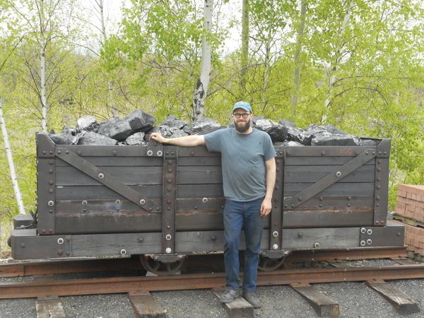 Mine Car Coal Load 4 25 2019 008