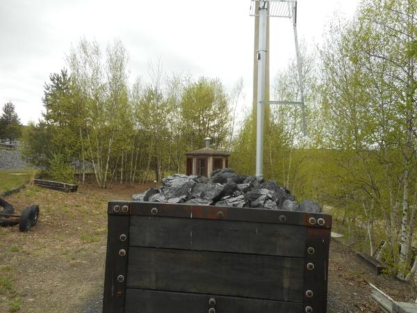Mine Car Coal Load 4 25 2019 009