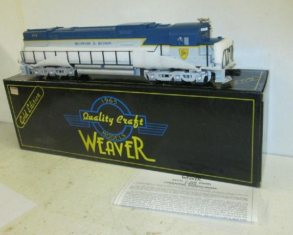 Weaver 1311L D&H # 670 Alco C-628 Century [1994 Cat, 280 list) Sample PhotoA