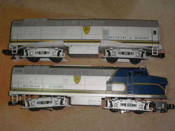 Weaver 1401L D&H 1216 & 1218 A-B Baldwin Sharknose Set, C8 [1995, 450 list) ACTUAL PHOTO2