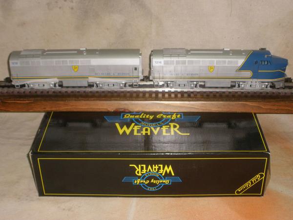 Weaver 1401L D&H 1216 & 1218 A-B Baldwin Sharknose Set, C8 [1995, 450 list) ACTUAL PHOTO1