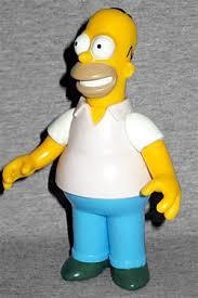 Image result for homer simpsons figure