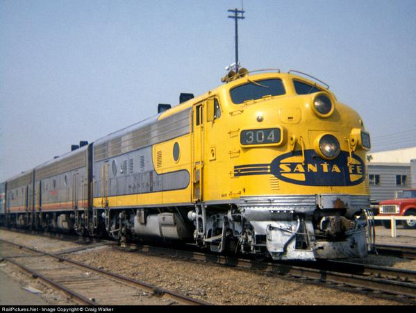 AT&SF Yellow Bonnet