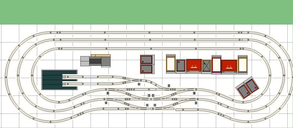 next step wiring up for 3 mainlines lionel fastrack 5. Black Bedroom Furniture Sets. Home Design Ideas