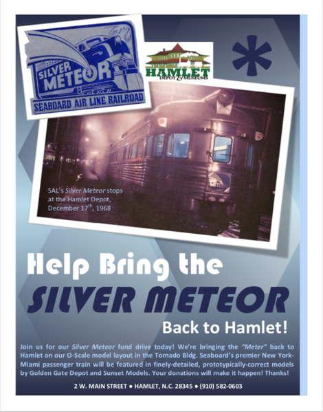Bring the Meteor back to Hamlet poster