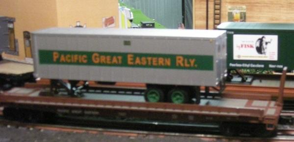 Weaver Pacific Great Eastern piggyback
