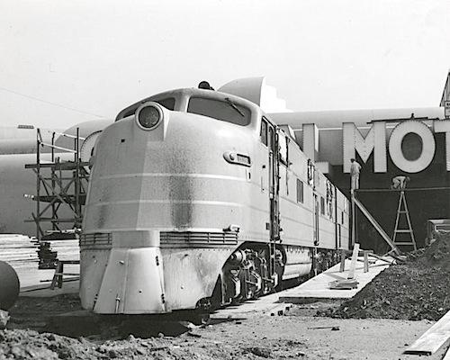 GM E4a Unit - 1939 World's Fair2