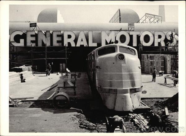 GM E4a Unit - 1939 World's Fair3