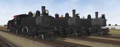 CB&Q K4 Train Simulator Models