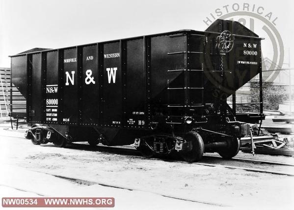 N&W H9 Hopper