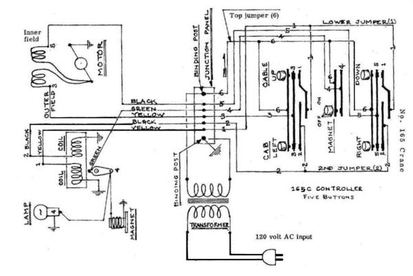 Lionel 165 Magnetic Crane