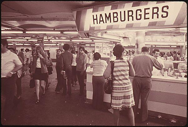 TImes Square Lunch Counter