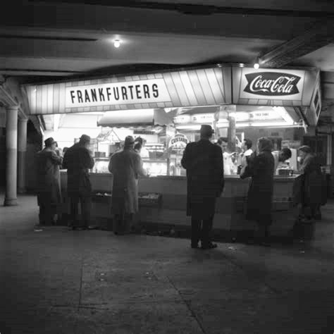 Times Square Subway Station Lunch Counter 2 - Lightened