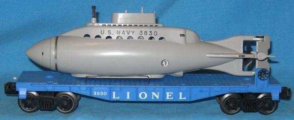 Lionel Submarine Flatcar