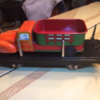 mceclip3: Delivery truck on flat car