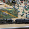 Marescot Etat Pacific and Lionel 700E scale Hudson 4