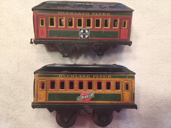 Overland Flyer Coaches - side orig