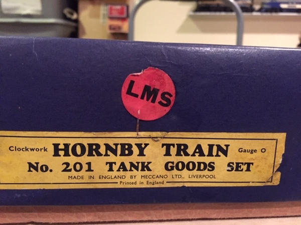 Hornby Set 2 label