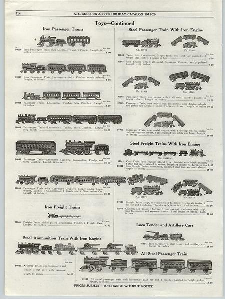 A C McClurg Catalog 1919-20