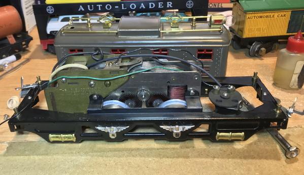 Lionel 251 Type 6 motor
