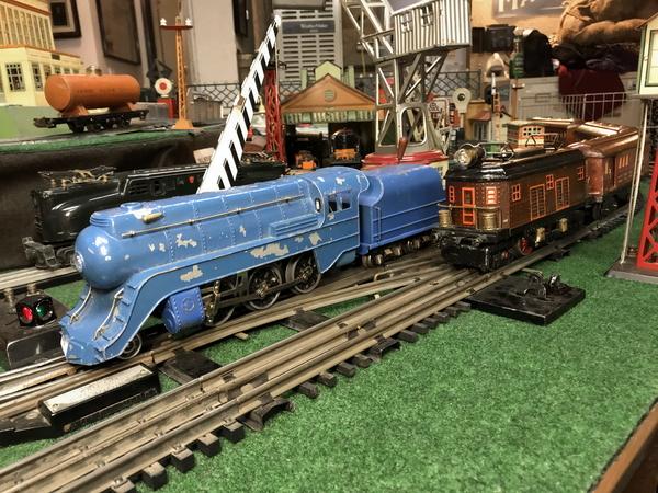 Sakai streamlined steam loco