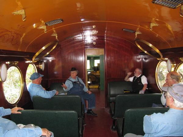 McKeen interior compartment