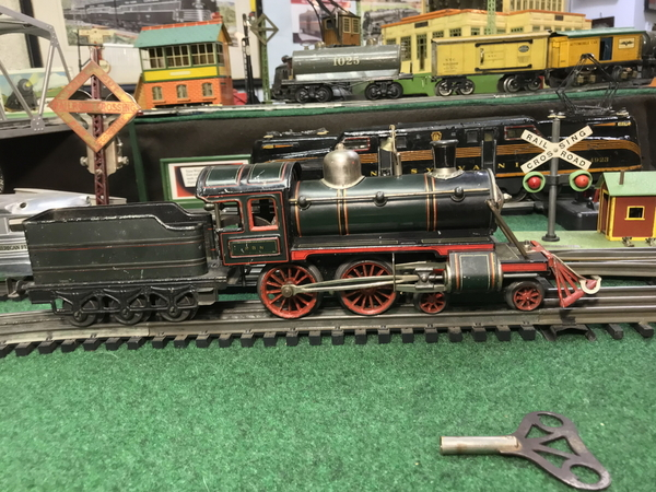 Karl Bub clockwork 4-4-0 steam loco 2
