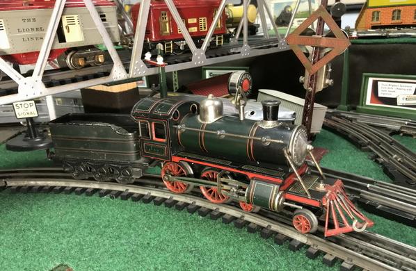 Karl Bub clockwork 4-4-0 steam loco