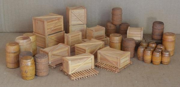 crates and barrels