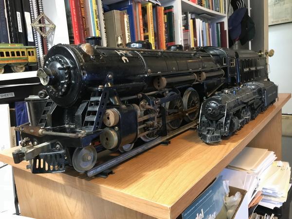 Erector Hudson with Lionel 773 Hudson 2