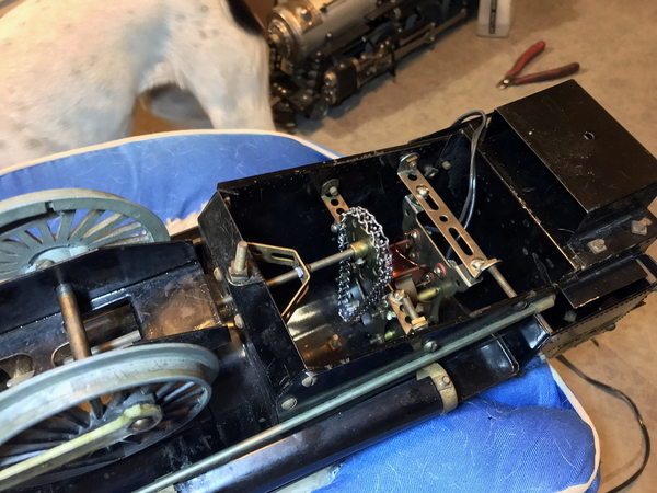 Erector Hudson motor