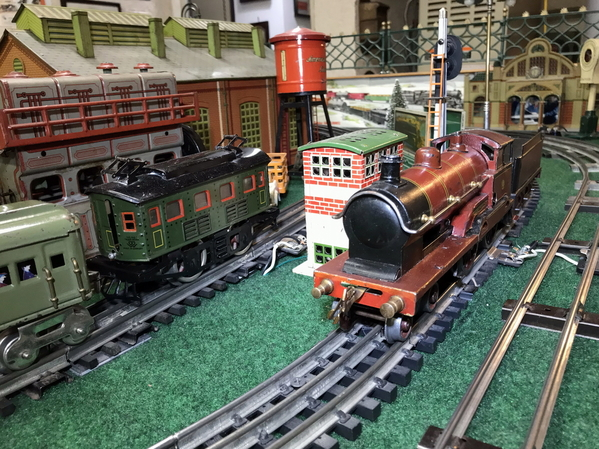 Bassett Lowke George the Fifth clockwork loco 3