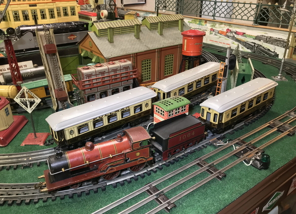 Bing O gauge Pullmans