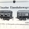 Bing O gauge dining cars