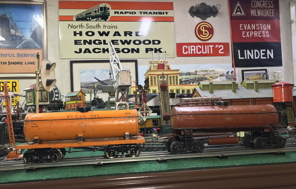 Ives 190 Texas Oil tank car [late and early)