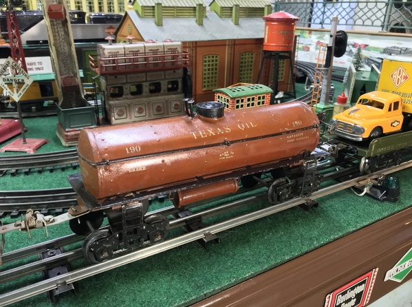Ives 190 Texas Oil tank car [early)