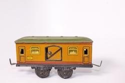 4-wheel baggage car