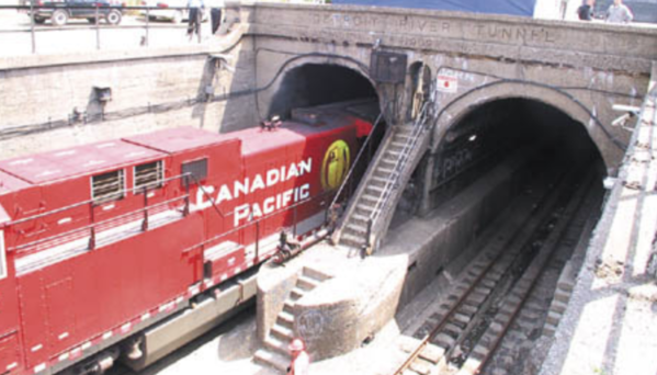 1 Train Tunnel