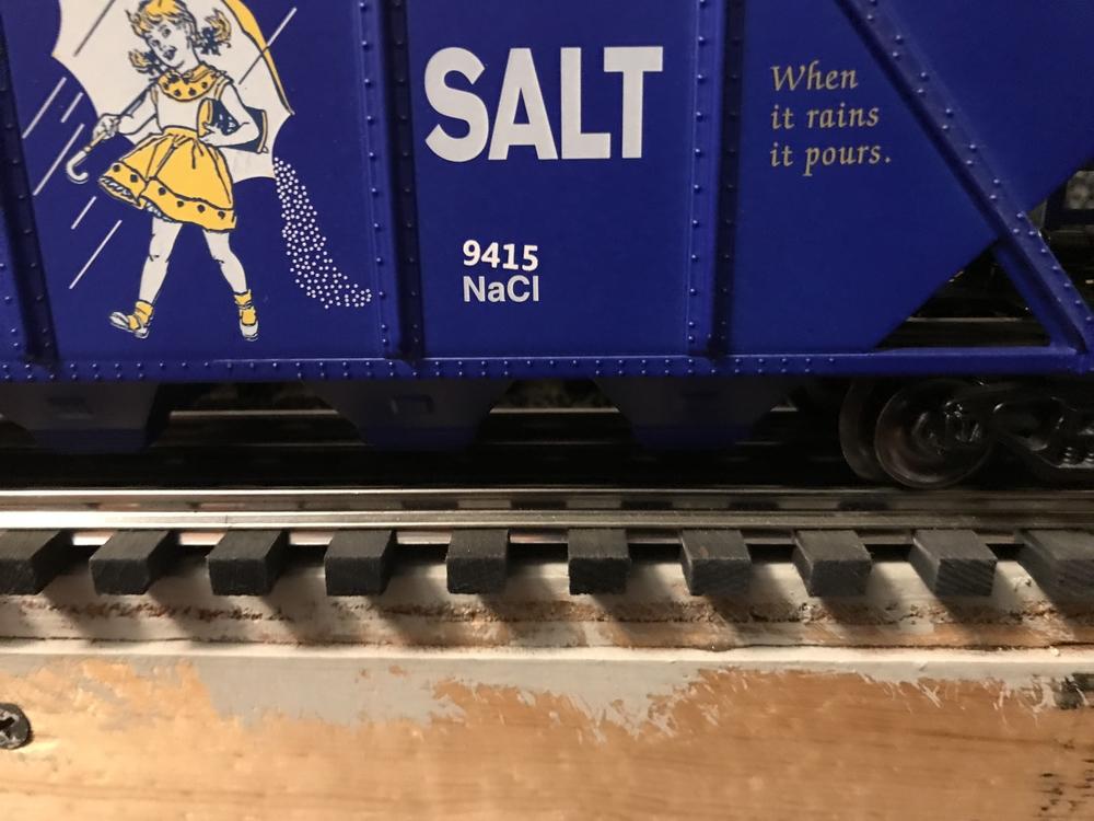 04/01/18) Morton Salt Hoppers Back in Stock! + New Box Truck
