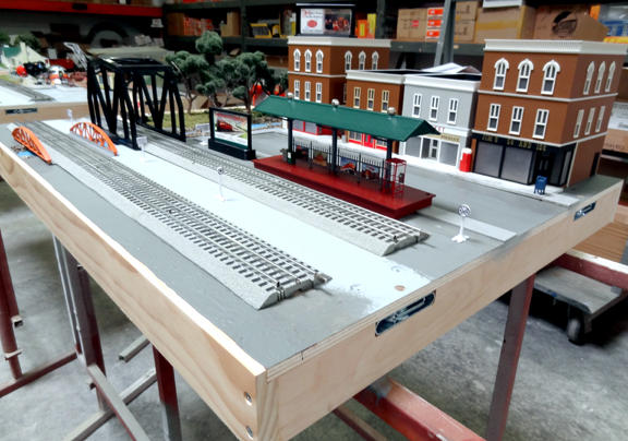 Lionel FasTrack Modular Layout news from the LCCA Convention – Lionel Fastrack Wiring Turn Out