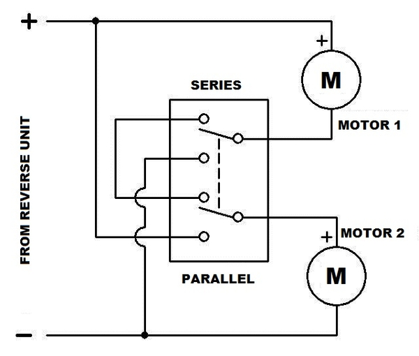DPDT Series Parallel