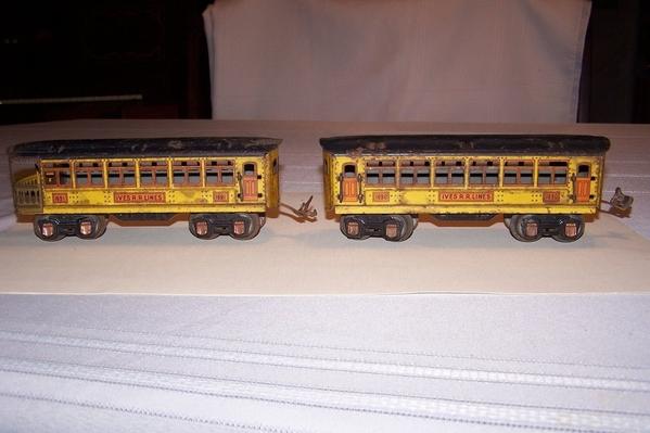 1690-1691 pass pair in yellow 70.00