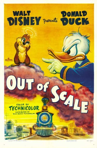 out of scale d duck