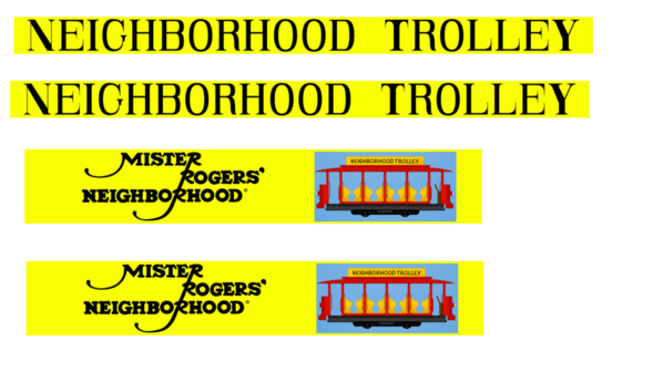 trolley-signs