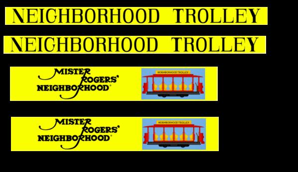 trolley-signs