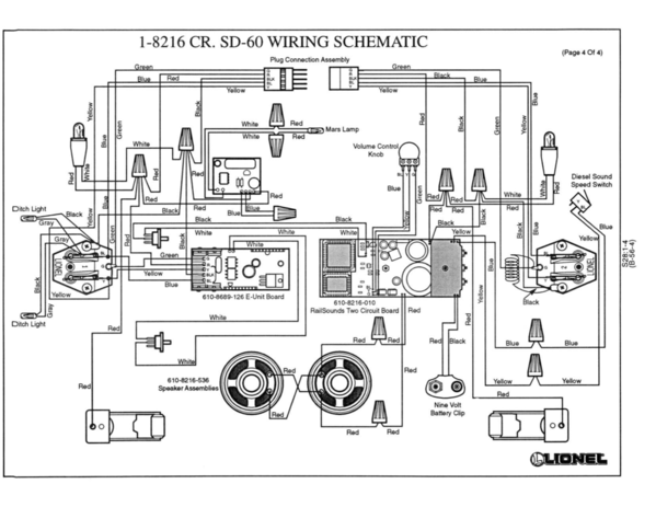 Wiring Diagram For Lionel 610 8689126 Reverse Unit O