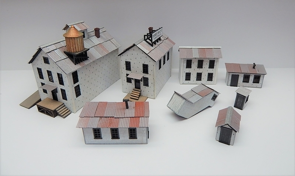 O scale Factory All Buildings